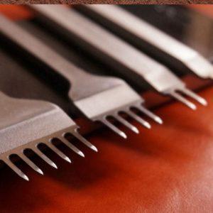 Набор дыроколов вилочный, шаг 4 мм-1063