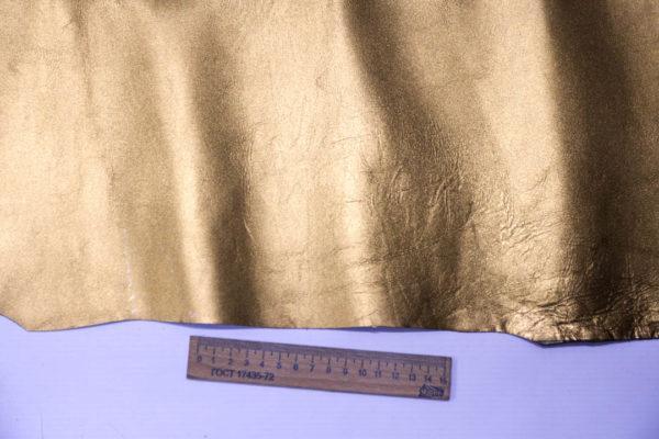 Кожа теленка, бронзовая, 92 дм2, Conceria Gaiera GIOVANNI S.p.A.-101021
