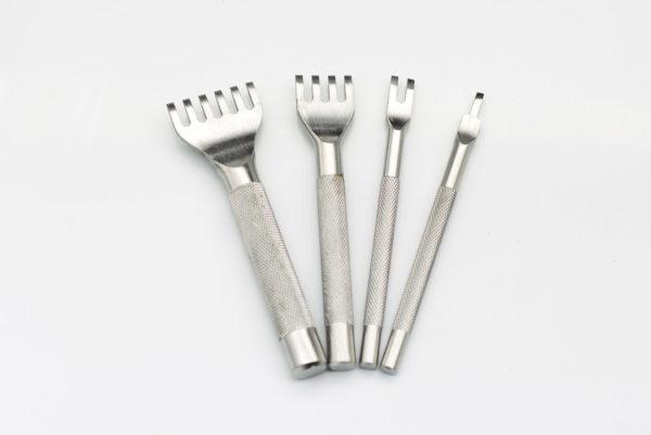 Набор дыроколов вилочных с  ПРЯМЫМИ зубцами-1055