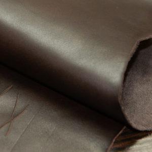 Кожа КРС, шоколадная.-01140