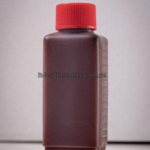 Краска для кожи. Тёмно коричневая. Эмаль Техноэм Н-590М