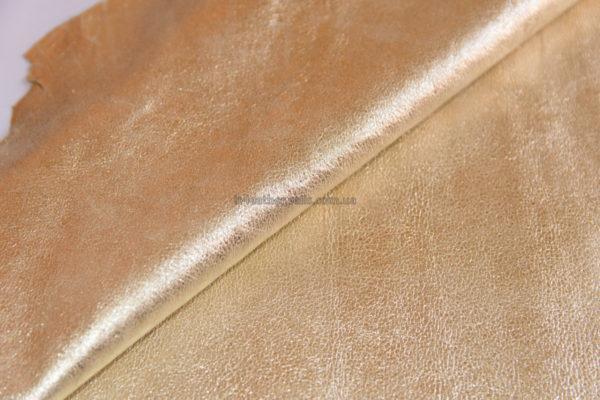 Велюр МРС с принтом, светлое золото, 43 дм2.-090234