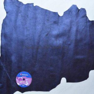 Велюр МРС , чёрный с синим напылением, 54 дм2.-62774