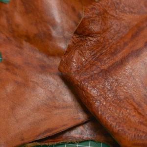 Обрезки и лоскут кожи-131229
