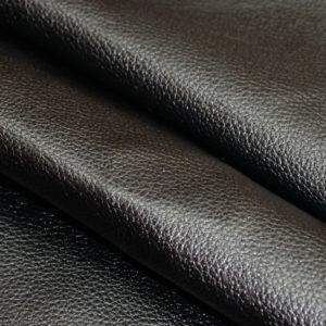 Кожа КРС, флотар (среднее зерно), чёрная.-01270