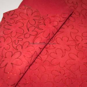 Велюр МРС с принтом, красный, 31 дм2.-230206