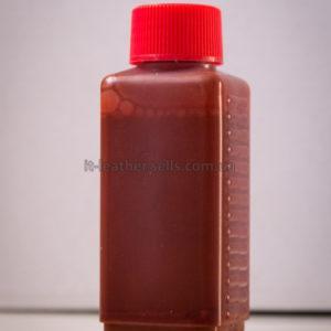 Краска для кожи. Красная. Эмаль Техноэм Н-590М