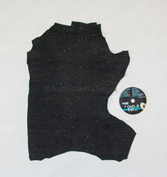 Велюр МРС фактурный, чёрный, 21 дм2.-633039