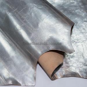 Кожа МРС, серебро (винтажное), 41 дм2.-290807