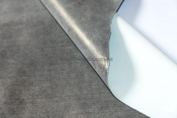 Велюр МРС с напылением, серебристый, 31 дм2.-240325