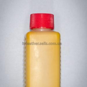 Краска для кожи. Жёлтая. Эмаль Техноэм Н-590М