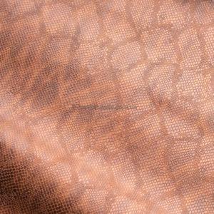 Кожа КРС с тиснением, коричневая, 99 дм2.-602008
