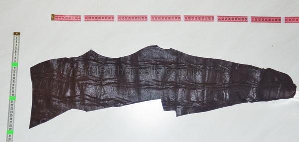 Велюр МРС с тиснением, коричневый, 11 дм2.-915047