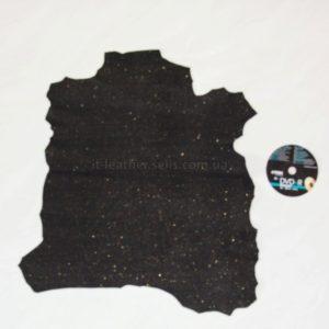 Велюр МРС фактурный, чёрный, 25 дм2.-633040