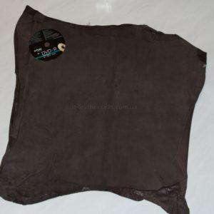 Велюр МРС с дублировкой, коричневый, 30 дм2.-740102
