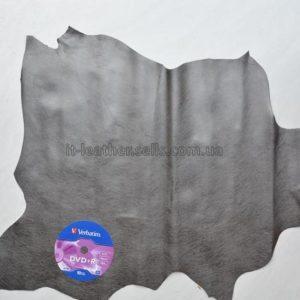 Кожа МРС , тёмно-серый металлик, 28 дм2.-62756