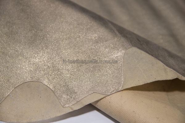Велюр МРС с напылением, розовое золото, 40 дм2.-290817