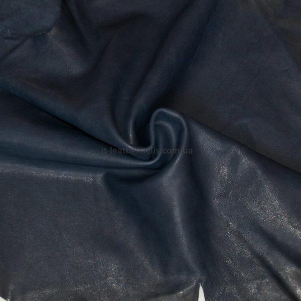 Кожа МРС, тёмно-синяя, 37 дм2.-747020