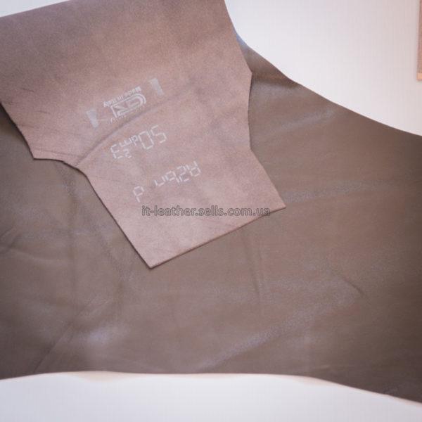Кожа МРС, тёмно-коричневая, 20 дм2.-909095