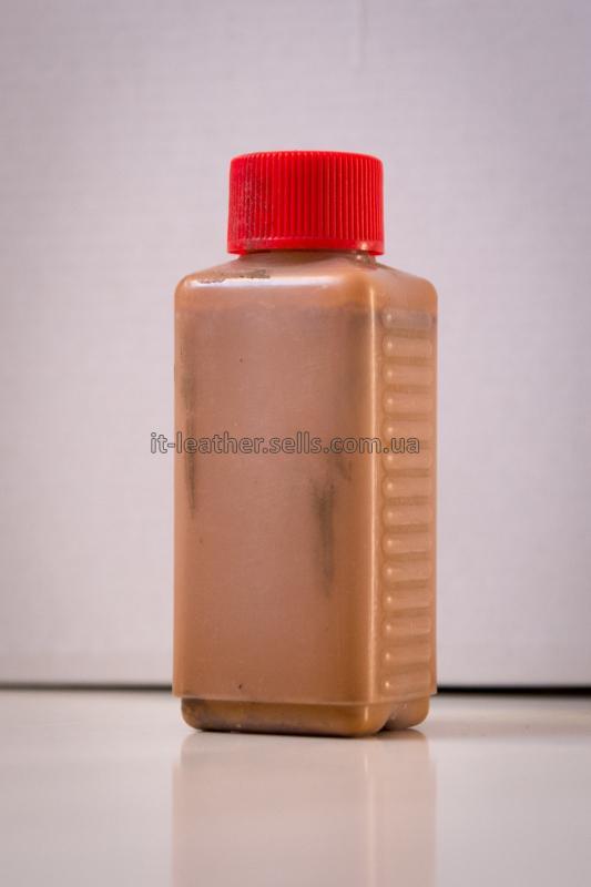 Краска для кожи. Светло-коричневая. Эмаль Техноэм Н-590М