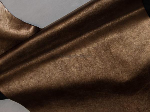 Кожа МРС, бронзовая, 26 дм2.-910094