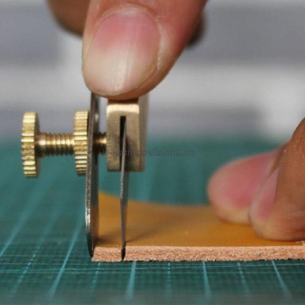 Нож для нарезки шнурков, лапши, полос из кожи-1093