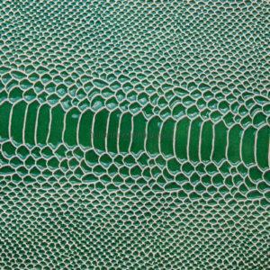 Кожа КРС с тиснением, зелёная, 162 дм2.-602070