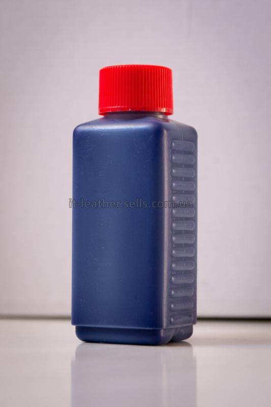 Краска для кожи. Синяя. Эмаль Техноэм Н-590М