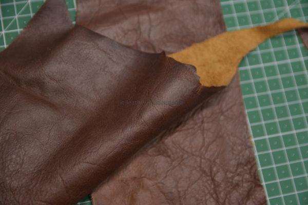 Обрезки и лоскут кожи-131246