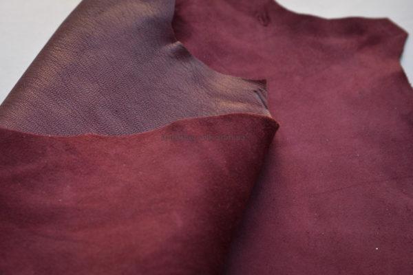 Велюр МРС, бордовый, 47 дм2-165074