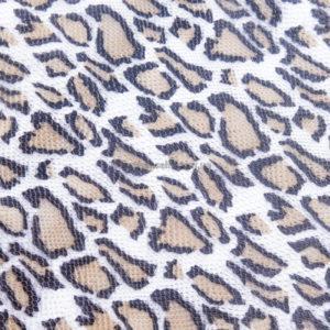 Кожа КРС с тиснением, леопардовая, 77 дм2.-602007
