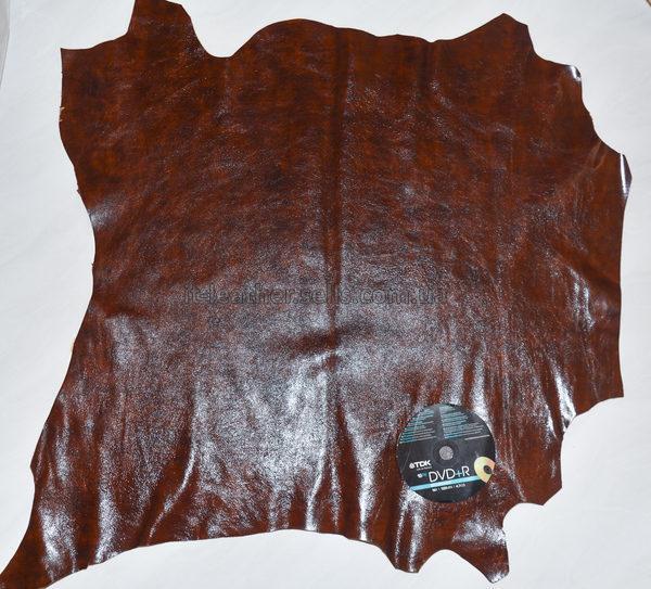 Кожа МРС, рыже-коричневая, 46 дм2.-712018