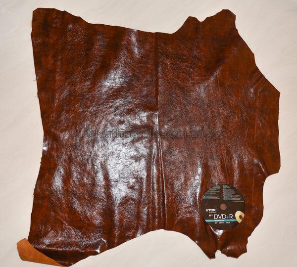 Кожа МРС, рыже-коричневая, 39 дм2.-712017
