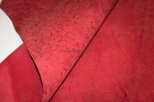 Велюр МРС с принтом, красный, 31 дм2.-230205