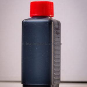 Краска для кожи. Чёрная (для замши). Эмаль Техноэм Н-590М