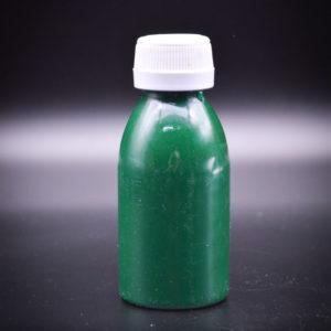 Краска для кожи BAYER. Зелёная
