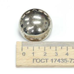 Украшение на усиках, диаметр 31 мм. LC. Никель-00063