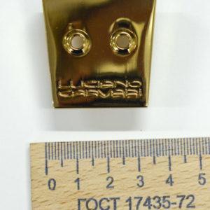 Украшение под бахрому, 38х37 мм. LC. Золото-00081