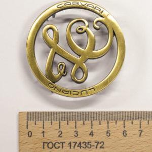 Украшение на усиках, диаметр 65 мм. LC. Бронза-00192