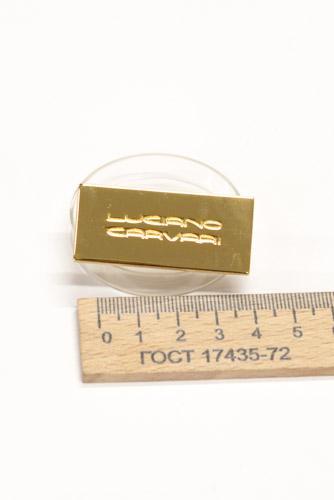 Украшение, 45х20 мм. LC. Золото-00211
