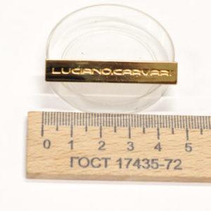 Украшение на усиках, 46х9 мм. LC. Золото-00231