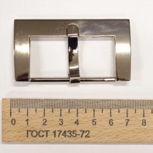 Пряжка 50 мм. Никель-00281