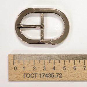 Пряжка 25 мм. Никель-00282