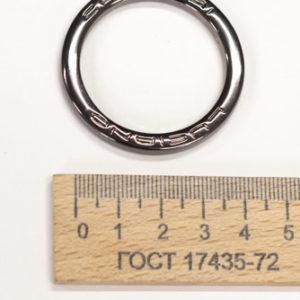 Кольцо LC , 45 мм. Чёрное-00292
