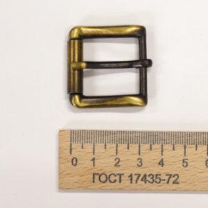 Пряжка 25 мм. Антик-00324