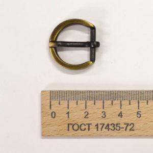 Пряжка 18 мм. Антик-00325