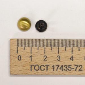 Хольнитены, 10 шт, Антик, 9 мм-00362
