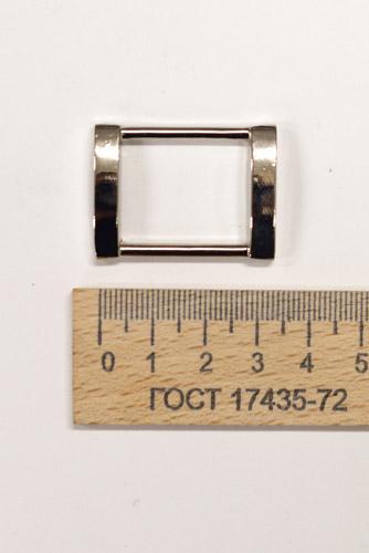 Рамка 24 мм. Никель-00422