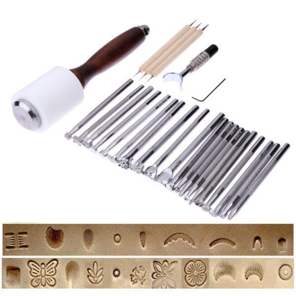 Набор инструментов для работы с кожей №2