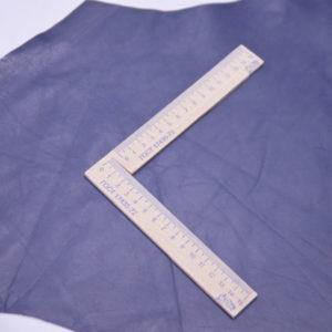 Кожа КРС, синяя, 132 дм2.-101003